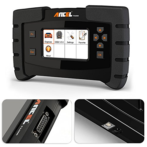 ANCEL FX4000 All System Automotive OBD2 Scanner Car Code Reader Vehicle OBDII Diagnostic Scan Tool for Check Engine ABS Airbag Transmission EPB ESP SAS TPMS by ANCEL (Image #1)