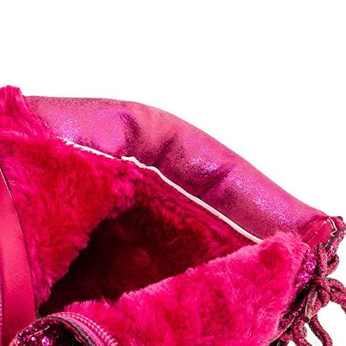 Chauds M467pi Boots Paillettes Fille Pink Fashionteam24 Classic Avec Pour Doublés P471yHvqw