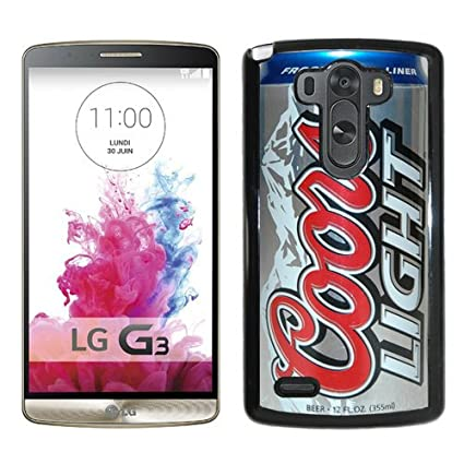 Personalized Coors Light Beer Can Black Case For LG G3 Phone Case Cool  Design