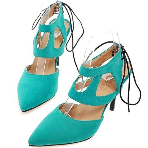 Femmes RAZAMAZA Sandales RAZAMAZA Sandales Pointue Blue Pointue Femmes Blue RAZAMAZA Femmes 4PwHPxqZ5