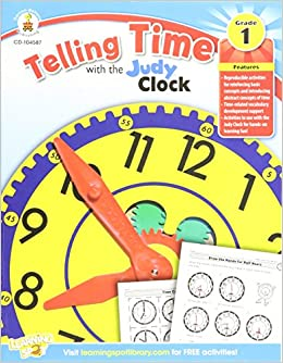 Telling Time With The Judy Clock, Grade 1 por Carson-dellosa Publishing epub