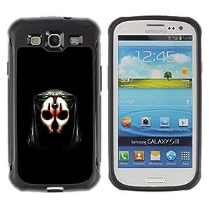 Suave TPU GEL Carcasa Funda Silicona Blando Estuche Caso de protección (para) Samsung Galaxy S3 III I9300 / CECELL Phone case / / Evil Face Mask /