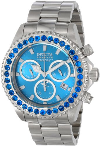 Invicta Men's 14447 Pro Diver Analog Display Swiss Quartz Silver Watch