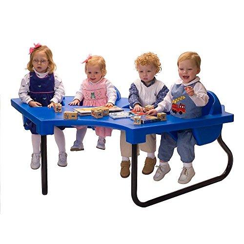 The Original Toddler Table TODDLER TABLE JUNIOR 4 SEAT