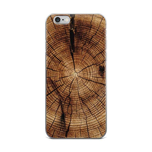 (iPhone 6 Plus/6s Plus Pure Clear Case Cases Cover Trunk Tree Texture)