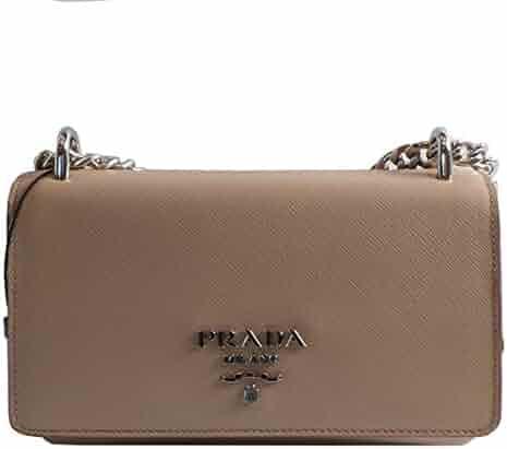 160d6c1a735d Prada Rose Beige Saffiano Leather Designer Crossbody Handbag for Women  1BD144