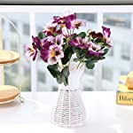 Liliy-luckly-Ornament-Simulation-Plant-Hotel-Wedding-Bouquet-Pansy-Home-Office-DecorRose-Red