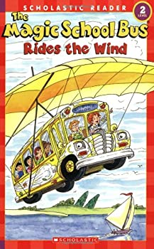 The Magic School Bus Rides The Wind 0439801087 Book Cover