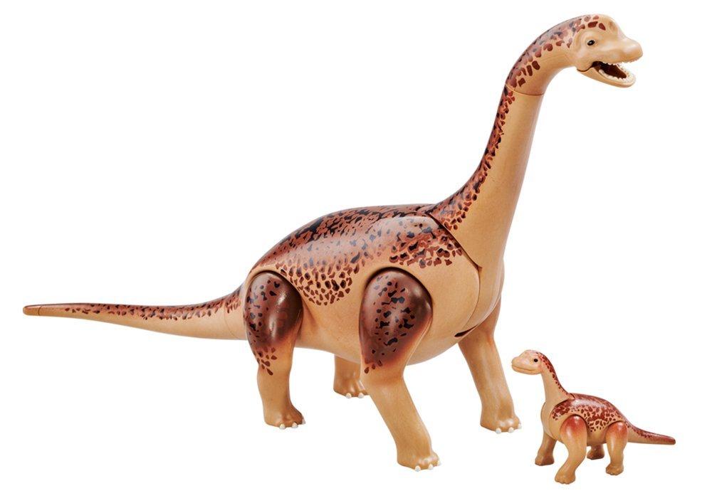 PLAYMOBIL 6595 Brachiosaurus mit Baby (Folienverpackung)