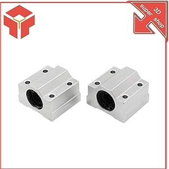 Impresora 3D – 4 piezas SC8UU SCS8UU 6UU 10UU 12UU Rodamientos de ...