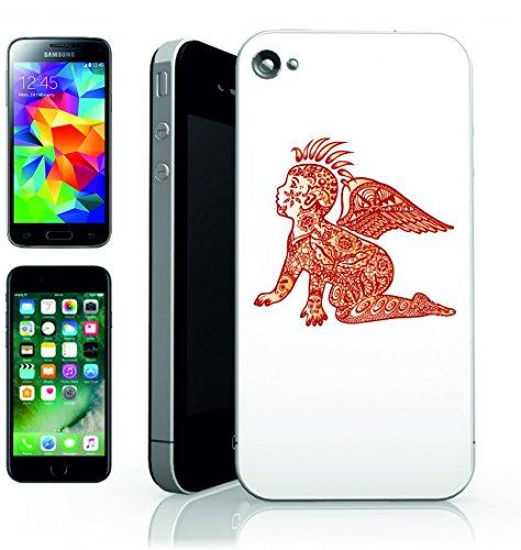 Smartphone Case Baby di Strisciamento del tatuaggio di umana di bambini per bambini di disegno di design della mascotte della icona della Pittura di disegno per Apple Iphone 4/4S, 5/5S, 5C, 6/6S, 7