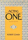 Acting One, Cohen, Robert, 155934119X