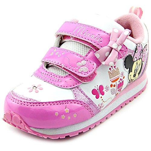 Josmo Kids Womens Minnie Sparkle Sneaker (Toddler/Little Kid)