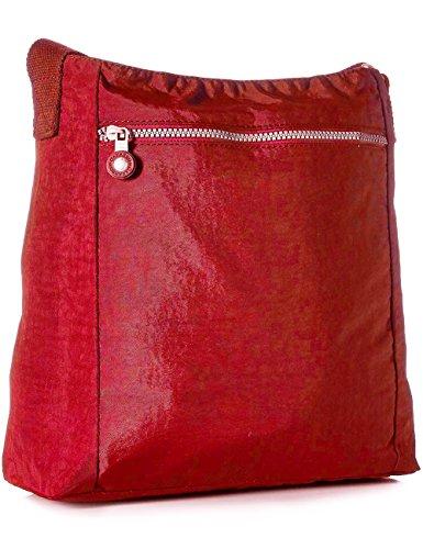 Nylon Pocket Multi Red 1301 Oakarbo Travel Purse Crossbody Bag Shoulder IqvzwpZdz