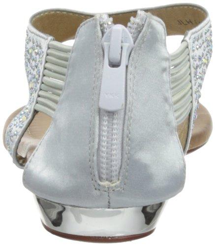 Lunar JLH635 - Sandalias de vestir de sintético para mujer Plata - plata