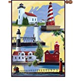 Premier Kites 52134 House Brilliance Flag, Michigan Lighthouse, 28 by 40-Inch Review