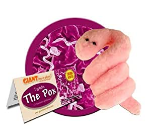 Giant Microbes Pox - Syphilis Treponema Pallidum Science Kit