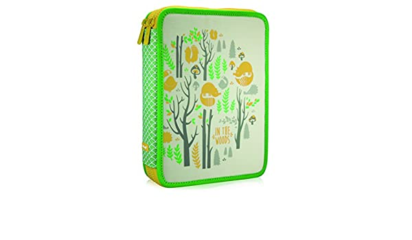 Amazon.com: Milan In The Woods Pencil Case, 25 cm, 2.5 Litres, Green ...