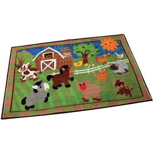 Constructive Playthings FLG-432 Constructive Playthings Farmyard Fun, 3' x 5