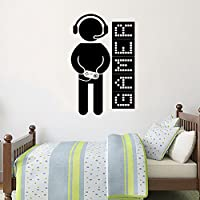 Gamer Wall Decal Joystick Game Controllers Vinyl Sticker Decals Gaming Video Game Boy Room Decor Bedroom Men Gift Nursery Dorm Gamer Gifts Decor ZX126