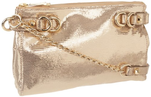 Juicy Couture Dylan Cross Body,Light Gold,One Size