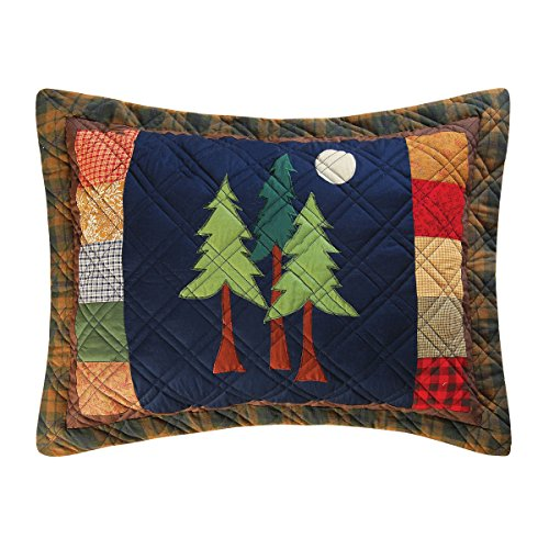 C&F Home Timberline Quilt Collection Standard Sham, 20 by (Collection Pillow Sham)