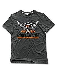 Men's Harley Davidson Logo T-Shirt 100% Cotton