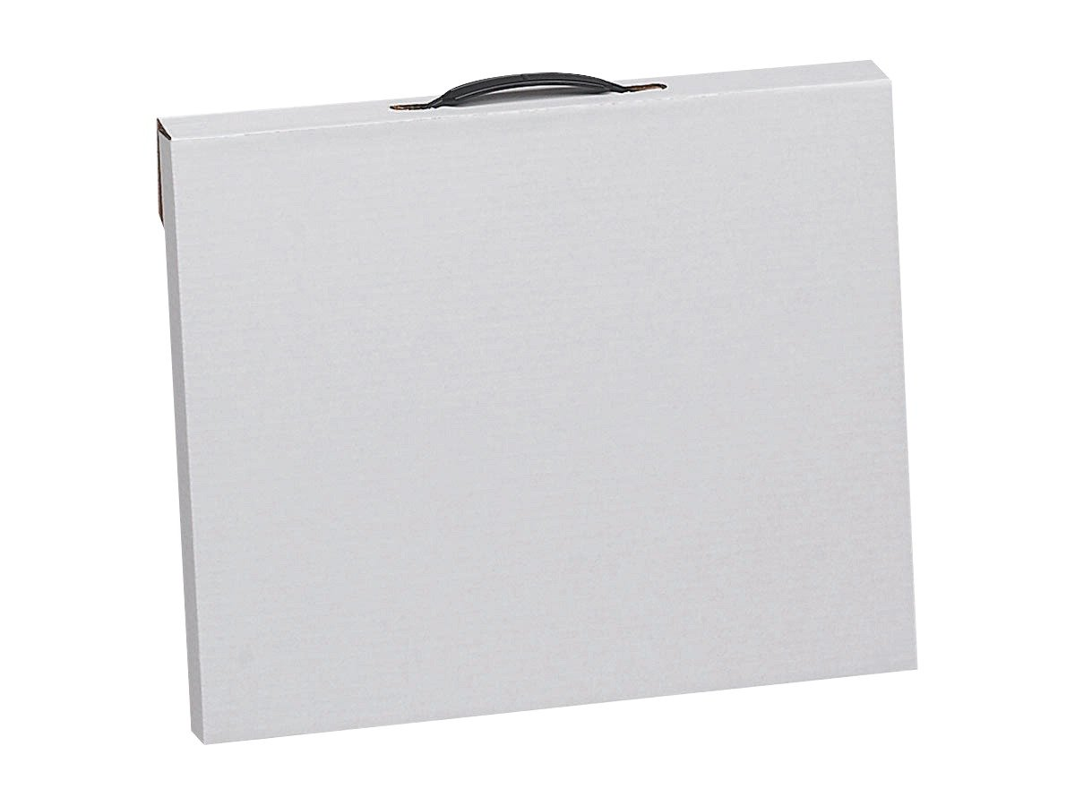 Flipside 20090 Velcro Light-Weight Water Retardant Art Portfolio Case to Protect and Transport Projects, 23 x 31 Size, 1.5 Height, 23.5 Width, 31.25 Length, White 23 x 31 Size 1.5 Height 23.5 Width 31.25 Length