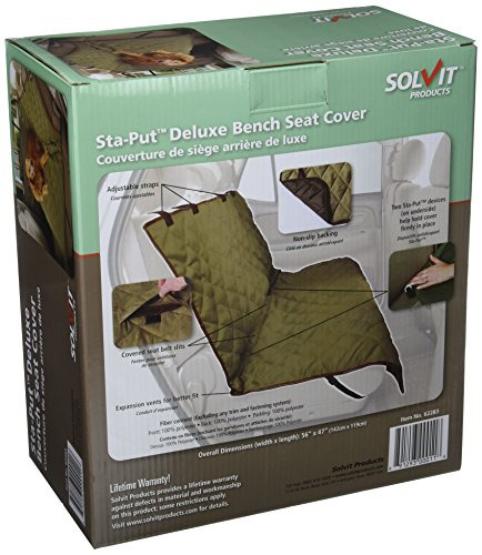 Astounding Solvit Products 62283 Deluxe Bench Seat Cover Natural Large Ibusinesslaw Wood Chair Design Ideas Ibusinesslaworg