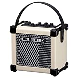 "Roland Micro Cube GX 3W 1-channel 1x5"" Battery-powered Guitar Combo Amp White with 1 Year Free Extended Warranty"