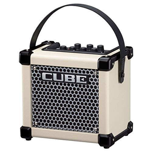 Roland MICRO CUBE GX | Micro Cube Battery Powered Guitar Amplifier White ()