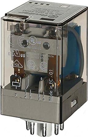 finder relay 8 pin diagram amazon com finder 60 12 9 024 0040 power relay  dpdt  24vdc  amazon com finder 60 12 9 024 0040