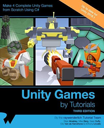 Best unity games by tutorials