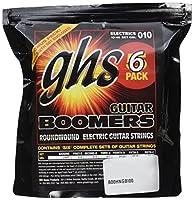 GHS GBL-5 Nickel Plated Electric Guitar Strings, Light