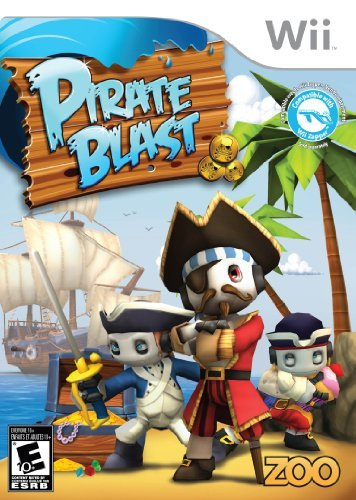 (Pirate Blast - Nintendo Wii by Zoo Games)