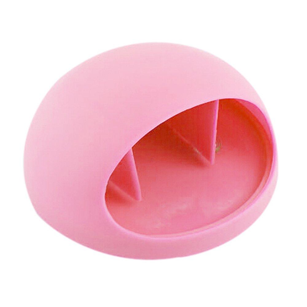 Colorido Bathroom Kitchen Sucker Suction Cup Toothbrush Holder Storage Rack Organizer (Pink)