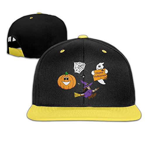 Hip Pop Halloween Wizard Pumpkin Ghost Kids Gift Kid Snapback Kid's Snapback Hats -