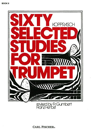 Sixty Selected Studies for Trumpet, Book II
