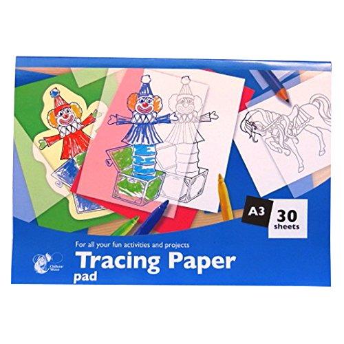 Pauspapier-Pad - A3 - 30 Blatt