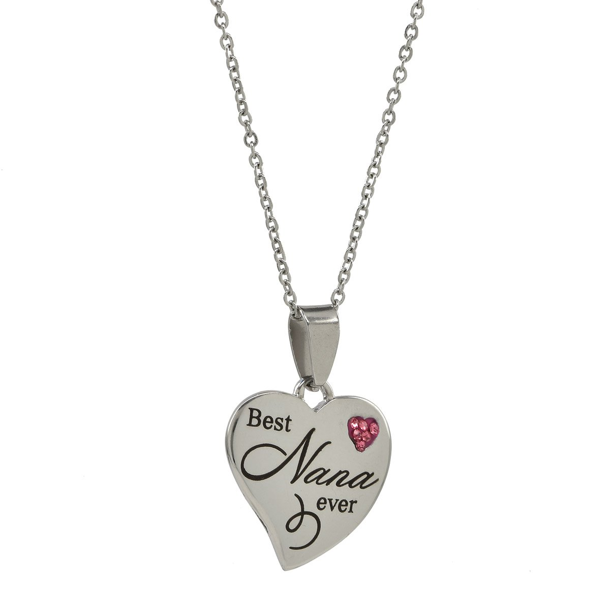 'Best Nana Ever 'Pendentif Collier Steal My Heart