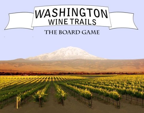 1 X Washington Wine Trails Board Game Mind Games