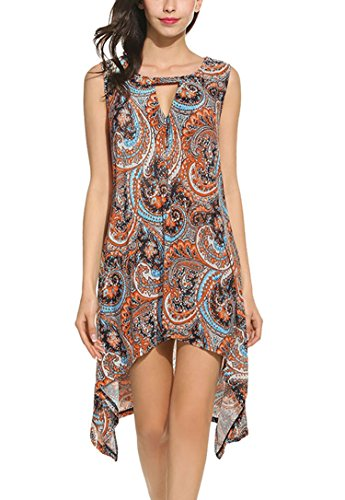 Asymmetrical Mini Dress - 5