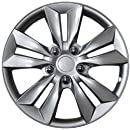 "Drive Accessories 1031 Silver 16"" ABS Plastic Aftermarket Wheel Cover"
