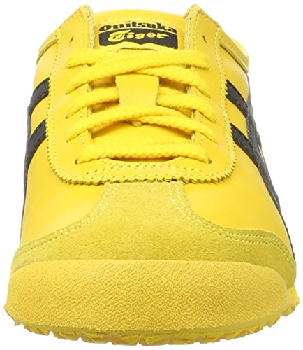 Multicolore Running de Yellow Adulte Mixte 66 Mexico Asics 0490 Chaussures Black qwOTf4