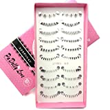 Best Unbranded* Fake Eyelashes - ZH-1 NEW 10 Pairs different under / lower Review