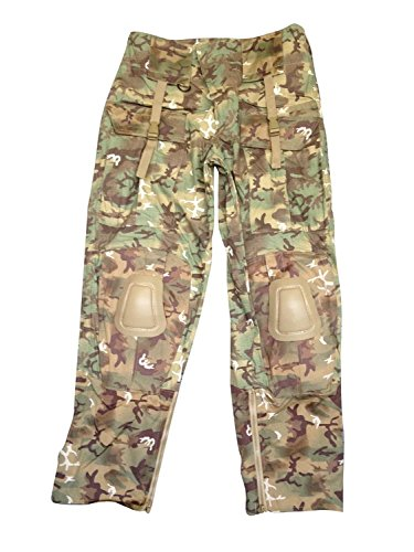 Mil-Tec Men's Tactical Trousers Warrior Arid Woodland size S ()