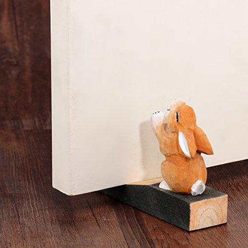 Friendly House Wooden Animal Decorative Door stopper (Rabbit) - Friendly House