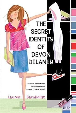 book cover of The Secret Identity of Devon Delaney