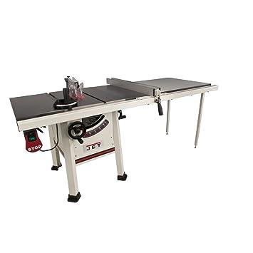 jet 708495k jps 10ts 10 inch proshop tablesaw with 52 inch fence rh amazon com