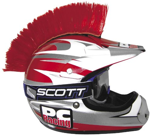 PC Racing Helmet Mohawk - Red PCHMRED